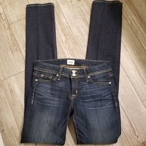 NWOT Hudson jeans Ginny straight supermodel jeans